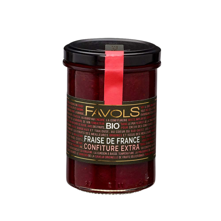 Favols - Confiture Fraise de France bio
