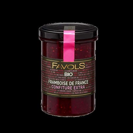 Favols - Confiture Framboise de France bio
