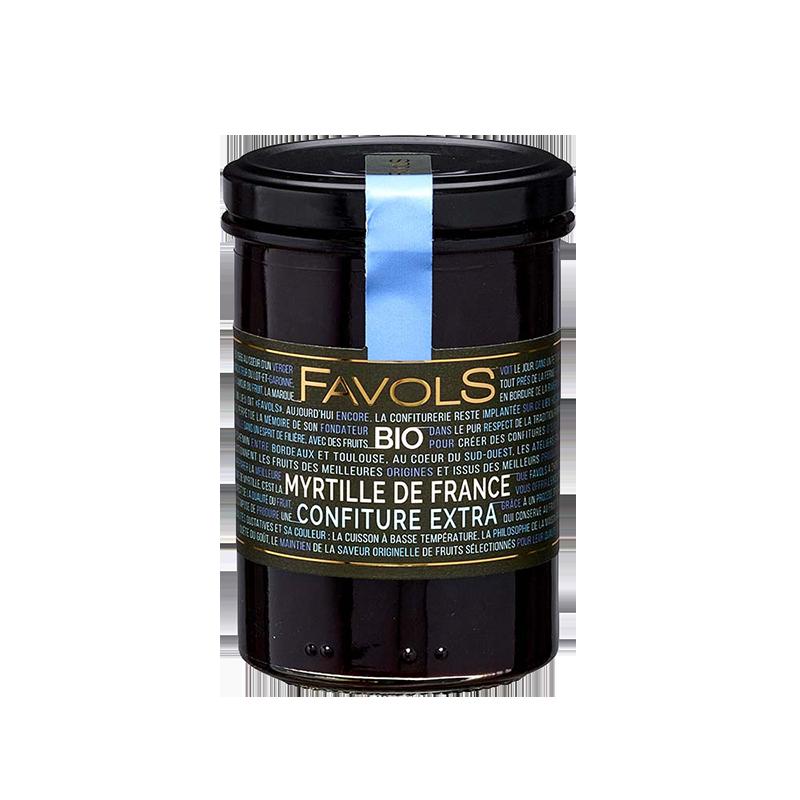 Favols - Confiture Myrtille de France bio