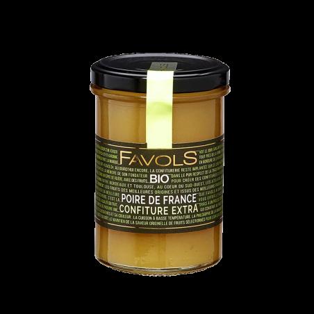 Favols - Confiture Poire de France bio