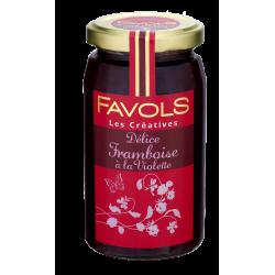 Favols - Confiture Framboise à la Violette