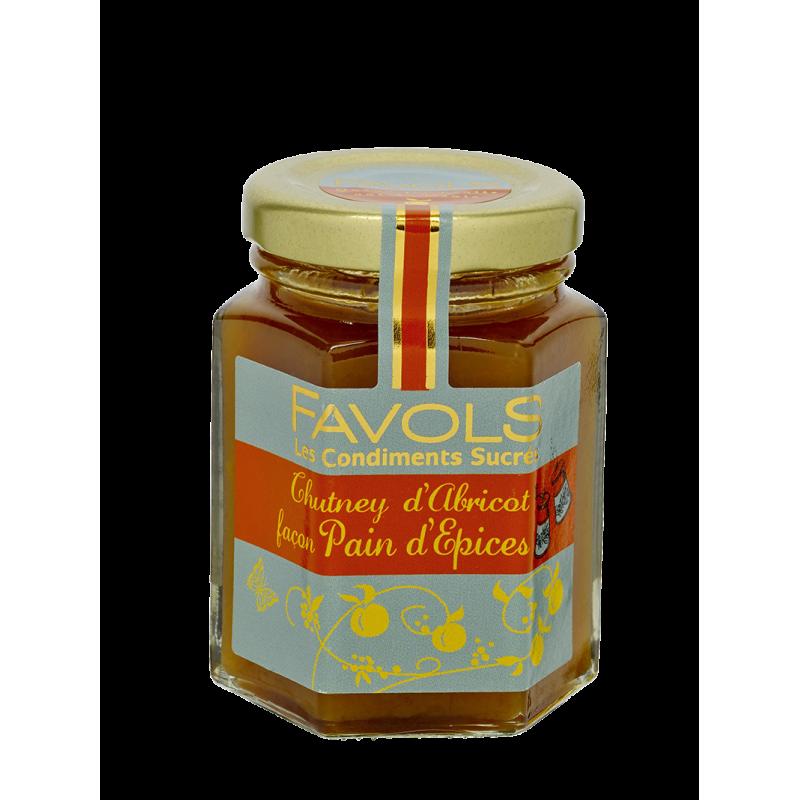 Favols - Chutney d'Abricot façon Pain D'épices