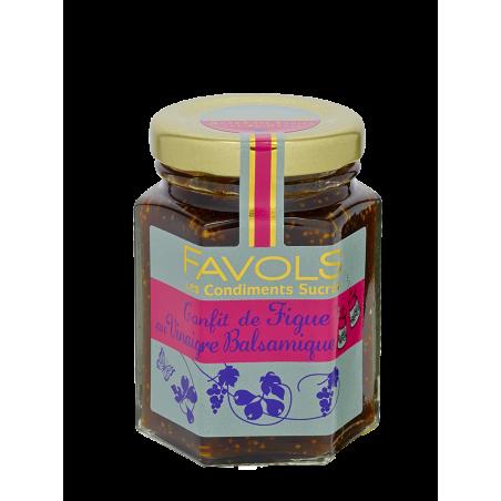 Favols - Chutney de Figue au Vinaigre Balsamique