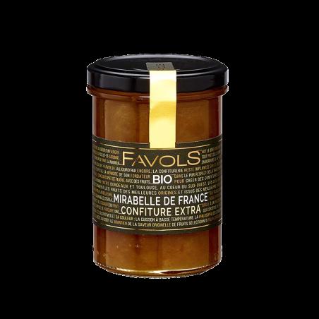 Favols - Confiture Mirabelle de France bio