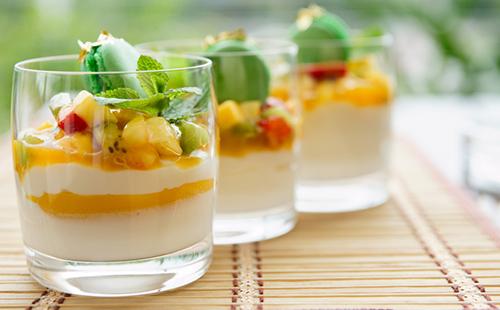 Trifle mangue